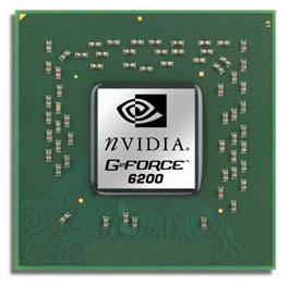 nVidia Geforce 6200-chip