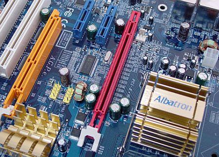 AGPe-slot op moederbord