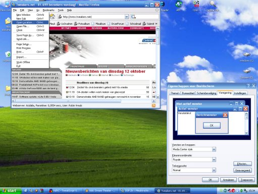 Microsoft Windows XP - Royale theme pack (klein)