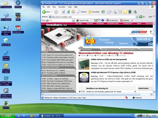 Microsoft Windows XP - Energy Blue theme pack (klein)