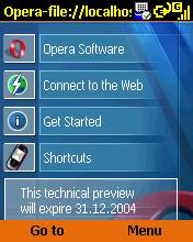 Opera 7.60 technical preview 1
