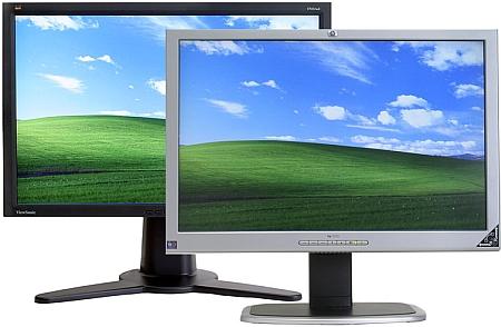 ViewSonic VP231wb & HP 2335