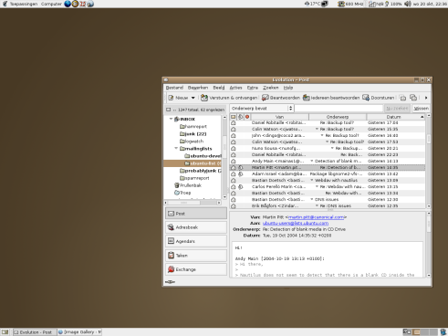 Ubuntu Linux 4.10 desktop (klein)