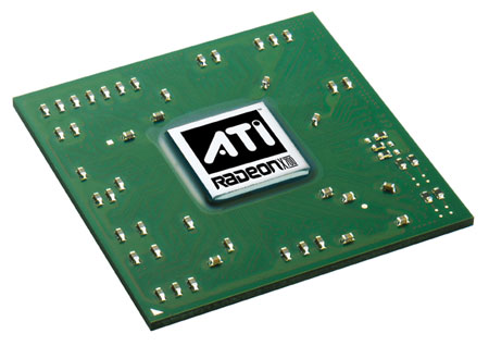 ATi Radeon X700 chip