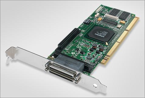 Adaptec ASR-2230SLP dual channel Ultra320 SCSI RAID-adapter (groot)