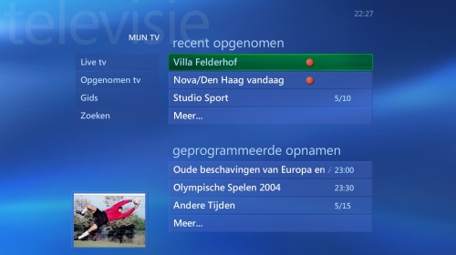 tv-gids MCE 2005