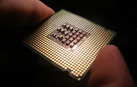 Intel Pentium 4 EE 3,46GHz achterkant