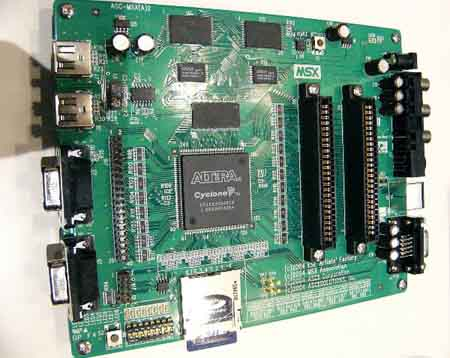One Chip MSX1-moederbord