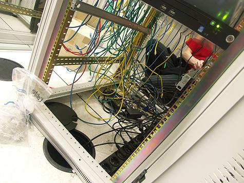 Redbus-verhuizing: TeleCity sloopwerk