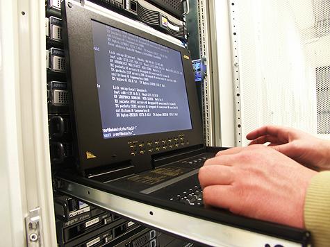 Redbus-verhuizing: Booten van de servers in Redbus