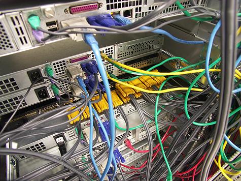 Redbus-verhuizing: Weg te werken kabels