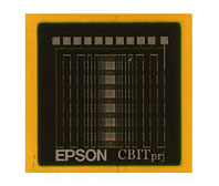 Epsons circuit board top view