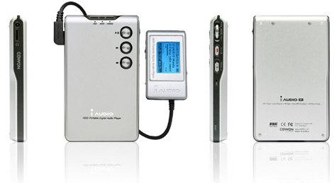 Cowon iAudio M3 met afstandbediening