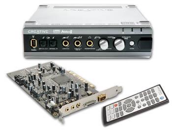 Creative Soundblaster Audigy 4 Pro