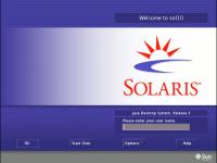 Solaris 10 Inlogscherm