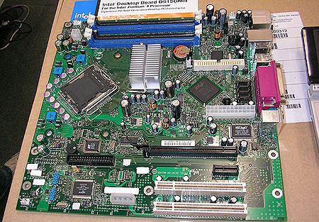 Intel D915GMHLK BTX-bord