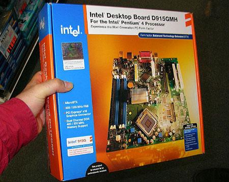 Intel D915GMHLK BTX-doos