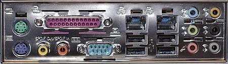 Gigabyte K8NXP-9 Aansluitingen