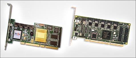 SATA RAID 2004: Netcell en Tekram adapters