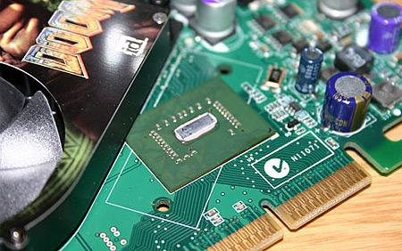 nVidia GeForce 6600 GT in AGP-uitvoering