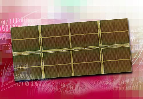 Elpida 1Gbit DDR2-800-geheugenchip (die)