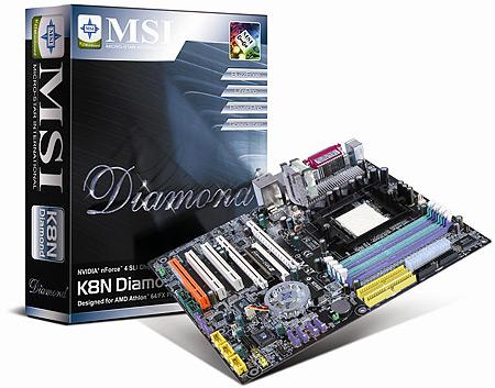 MSI K8N-Diamond met doos