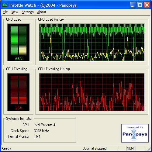 ThrottleWatch 0.9
