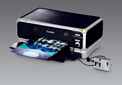 Canon Pixma iP5000 met camera