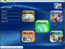 HP Tunes-interface