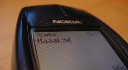 Sms, telefoon, Nokia (klein)
