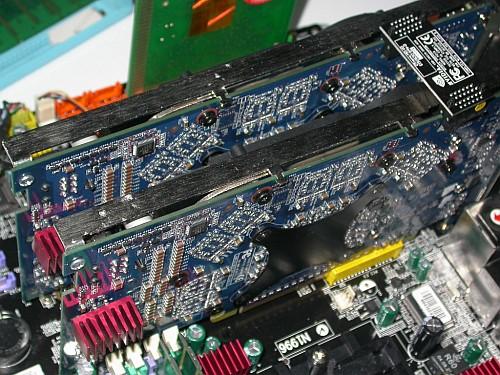 MSI K8N Neo4 Platinum zonder SLI in SLI-opstelling