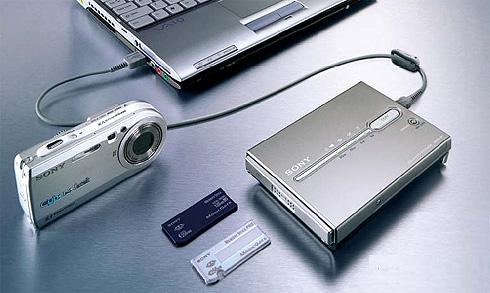 Sony HDPS-M1, 40 GB harddisk photo storage
