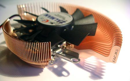 Zalman VF700-Cu VGA-koeler (bovenkant)