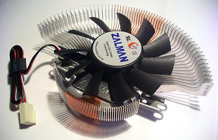 Zalman VF700-AlCu VGA-koeler (bovenkant)