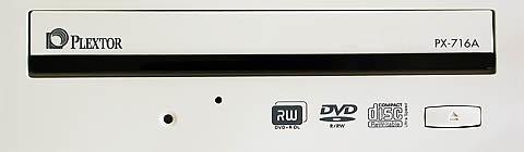Plextor PX-716A frontje