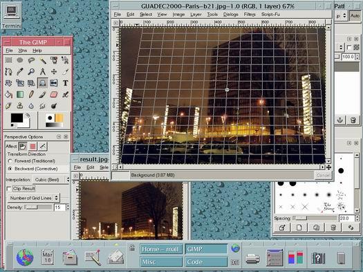 The Gimp screenshot (resized)