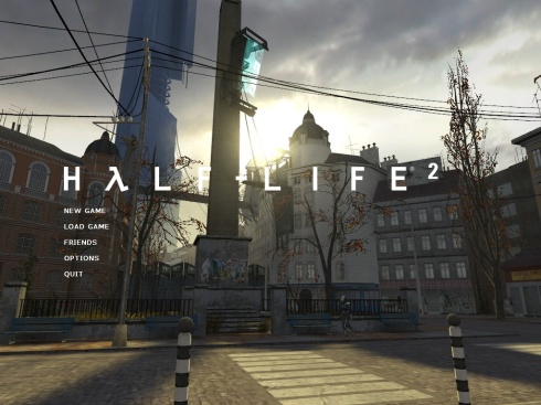 Half-Life 2 hoofdmenu (thumbnail)