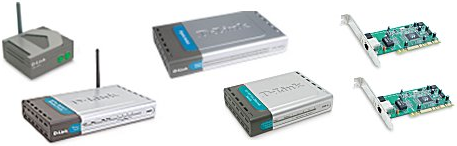 D-Link netwerkhardware