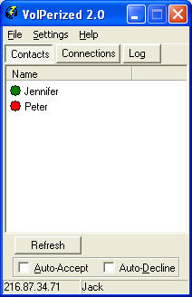 VoIPerized 2.0 screenshot