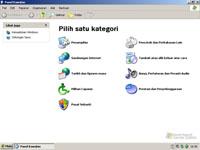 Windows XP Starter Edition - Configuratiescherm (klein)