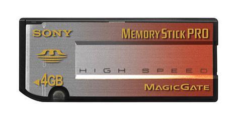Sony 4GB high speed Memory Stick