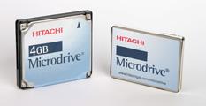 Hitachi Microdrives