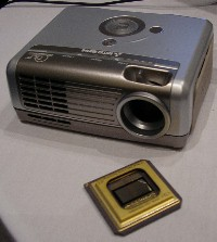 Mitsubishi LED-projector