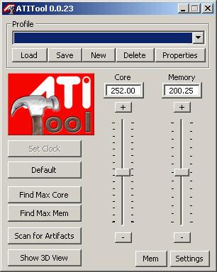 ATiTool 0.0.33 screenshot