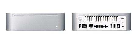 Mac Mini: voor- en achterkant
