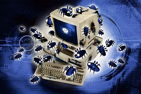 Geïnfecteerde computer
