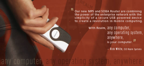 Realm Systems Mobile Personal Server