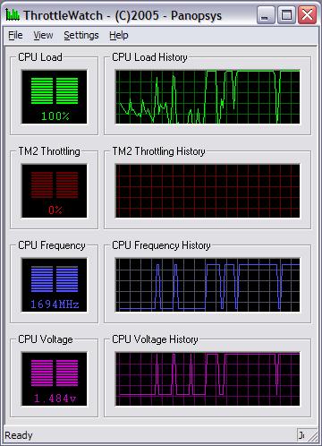 ThrottleWatch schermafbeelding