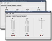 Gnome 2.10 - Volume control (klein)