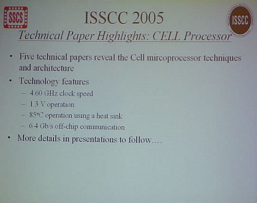 Cell-processor specificaties